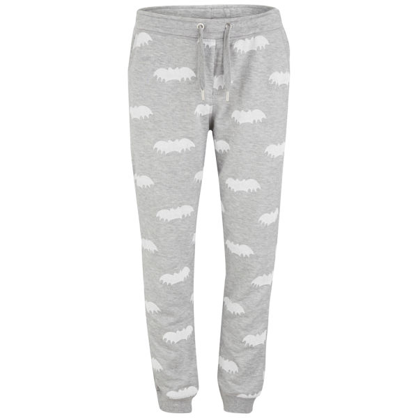 Zoe Karssen Women's All-Over Bat Print Sweatpants - Grey