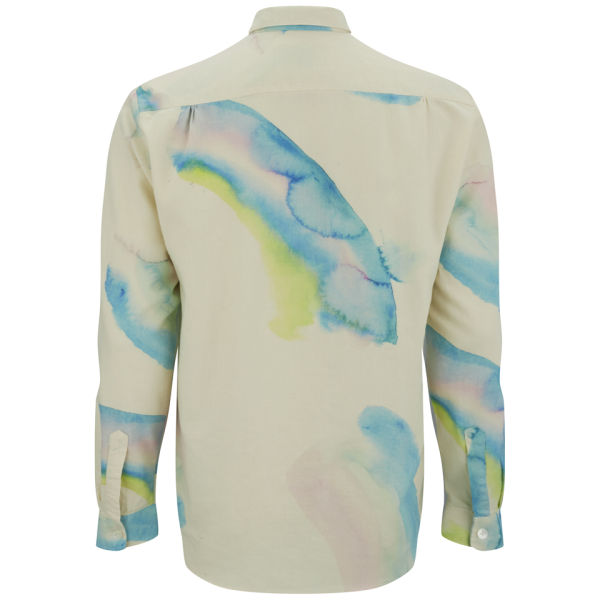 Our Legacy Mens Six Shirt Rainbow Print Free UK Delivery over 50