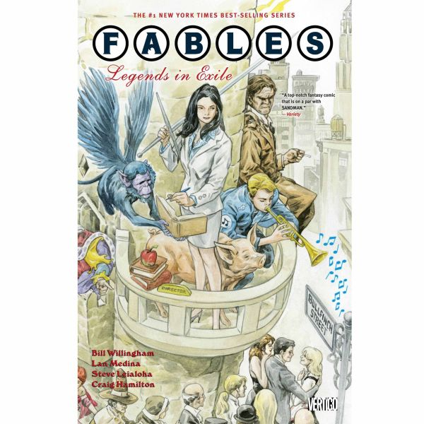 Fables: Legends in Exile - Volume 1 Paperback Graphic Novel