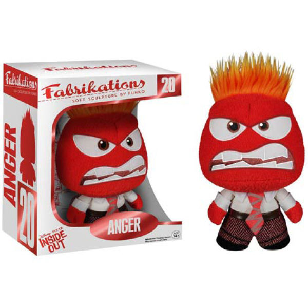Disney Inside Out Anger Fabrikations Plush Figure