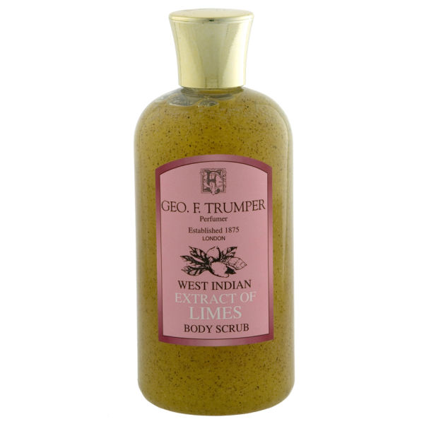 Trumpers Limes Body Scrub - 200 ml Travel