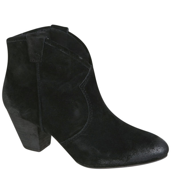 Ash Women's Jalouse Suede Ankle Boots - Black - Free UK Delivery ...