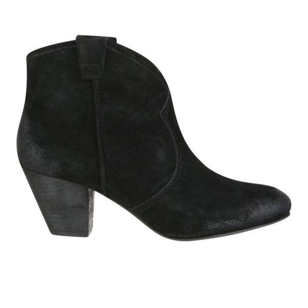 Ash Women's Jalouse Suede Ankle Boots - Black