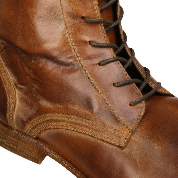 Hudson London Men s Swathmore Calf Leather Boots - Tan   Buy Online ... 86cd808dde