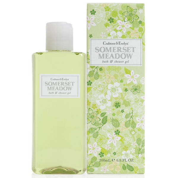 Crabtree & Evelyn Somerset Meadow Bath andShower Gel