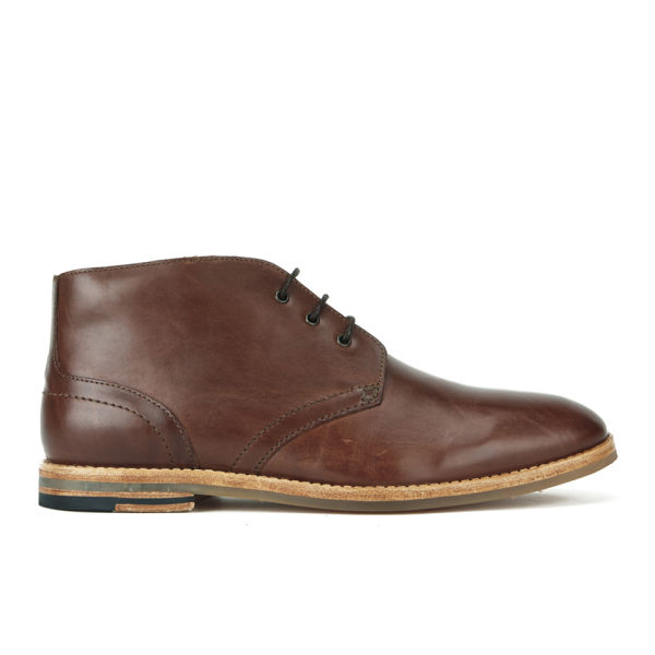 Hudson London Men's Houghton 2 Leather Desert Chukka Boots - Tan: Image 1
