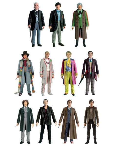 Dr Who 11 Doctors Action Figure Collector Set Toys Zavvicom - 1963 Home Decor