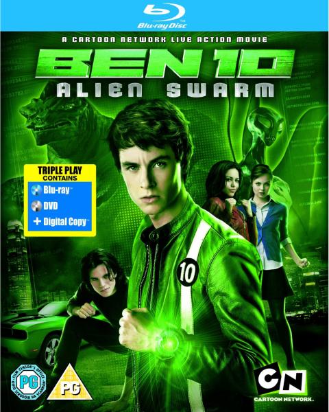 Ben 10: Alien Swarm BD & Digital Copy