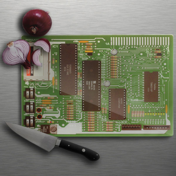 Motherboard Chopping Board