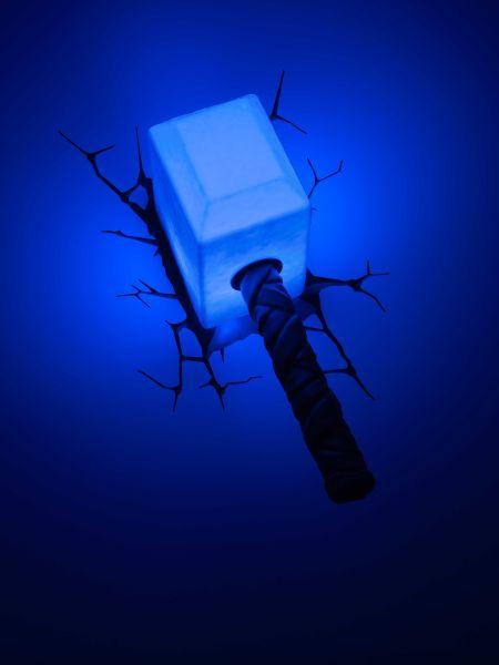 marvel thor hammer 3d lampe sowia. Black Bedroom Furniture Sets. Home Design Ideas