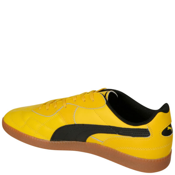 1bee9d875d75 Puma Men s Esito Classic Sala Trainers - Yellow Black Sports ...