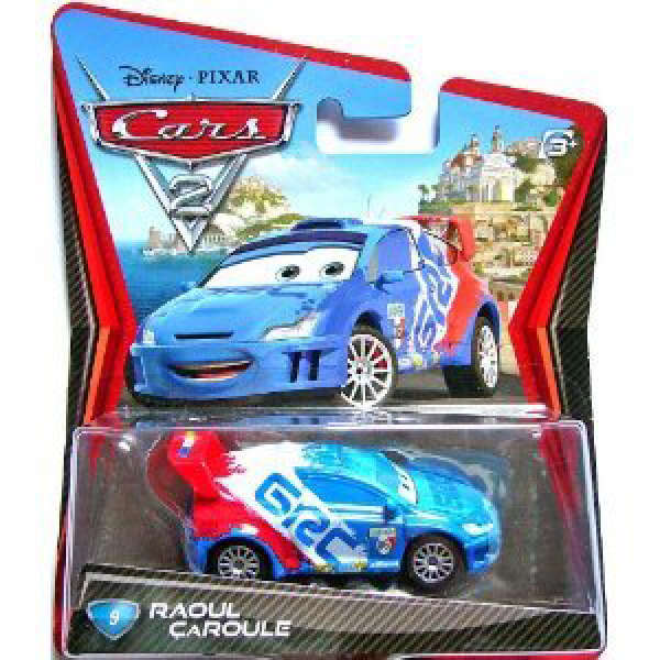 Cars 2 Character Pack Raoul Caroule Toys Thehut Com