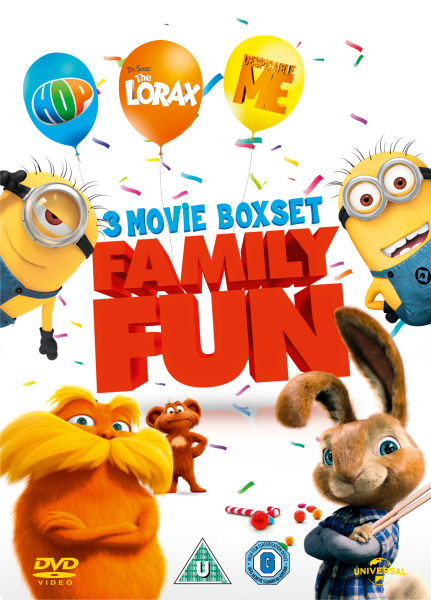 Hop / Despicable Me / Dr. Seuss' The Lorax