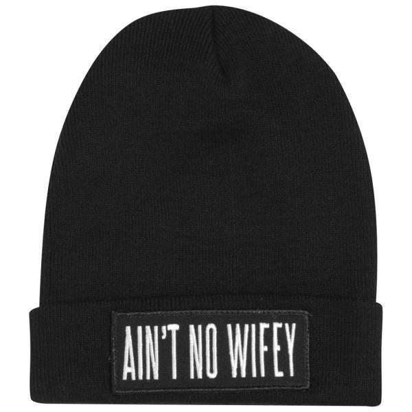Dimepiece Women's Ain't No Wifey Beanie - Black