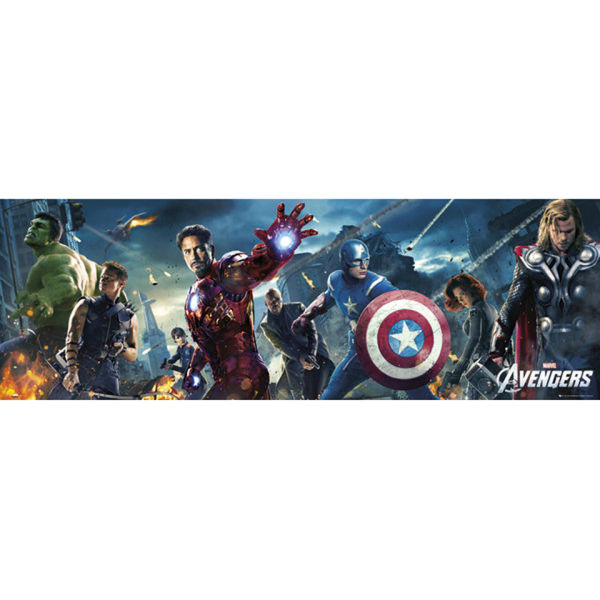 The Avengers One Sheet - Door Poster - 53 x 158cm