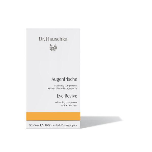 Lotion fraîcheur pour les yeux du Dr. Hauschka (10 x 5 ml)