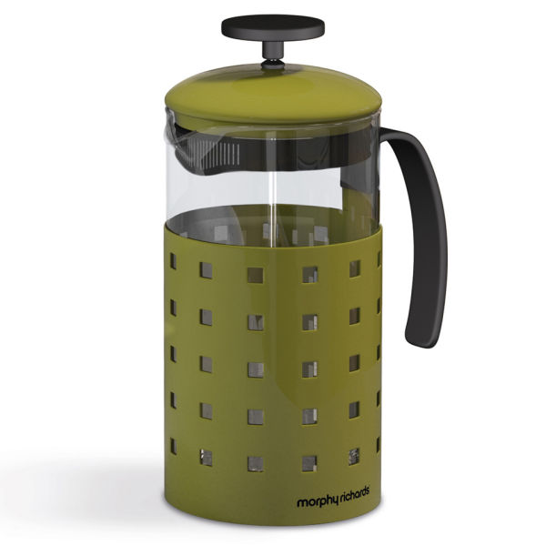 morphy richards accents 8 cup cafetiere green iwoot. Black Bedroom Furniture Sets. Home Design Ideas