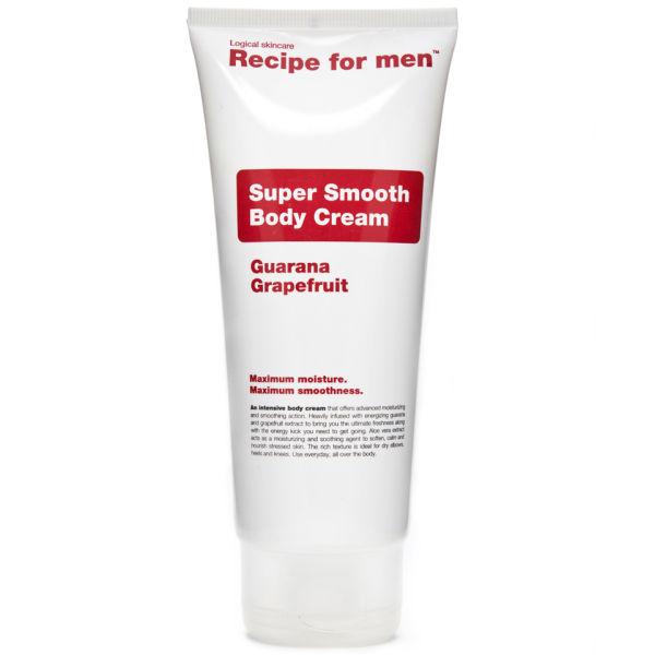 Recipe for Men - Super Smooth Body Cream 200ml