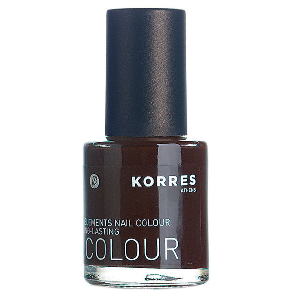 KORRES Nail Colour Dark Brown 69