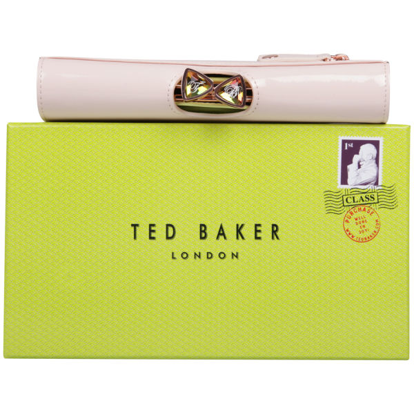 5f15b93c6bf7 Ted Baker Titiana Bow Crystal Top Bobble Leather Matinee Purse - Light Pink   Image 5