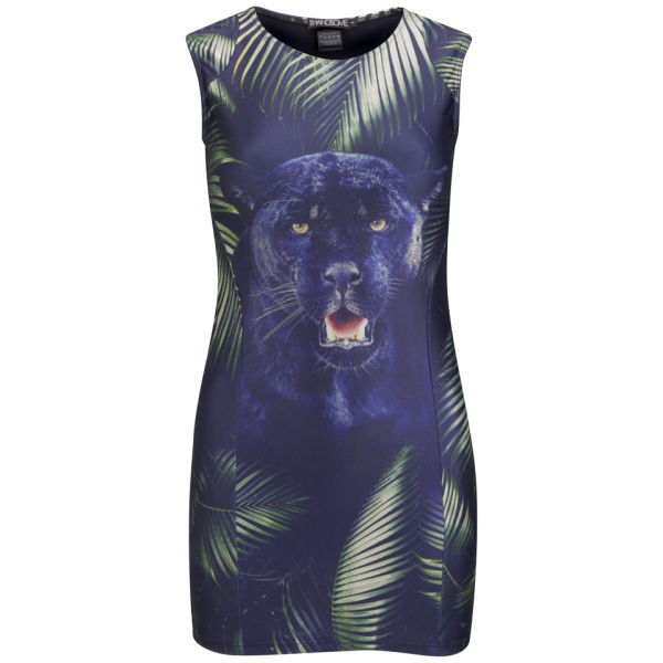 We Are Handsome Women's The Pantera Panel Mini Dress - Pantera