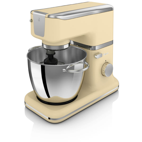 Swan SP21010CN Retro Stand Mixer - Cream - 1000W