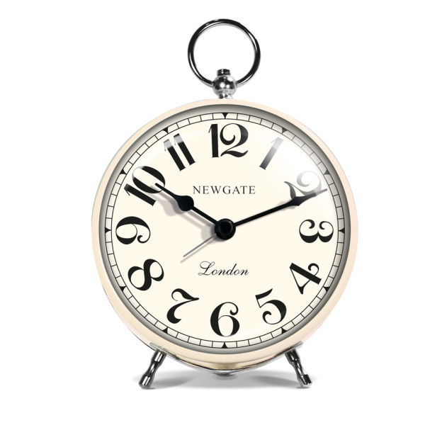 Newgate Chelsea Alarm Clock - Cream