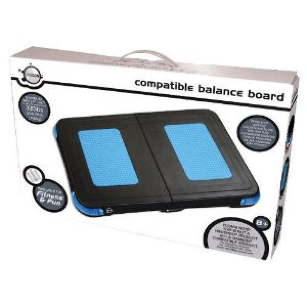wii balance board black impact games accessories zavvi. Black Bedroom Furniture Sets. Home Design Ideas