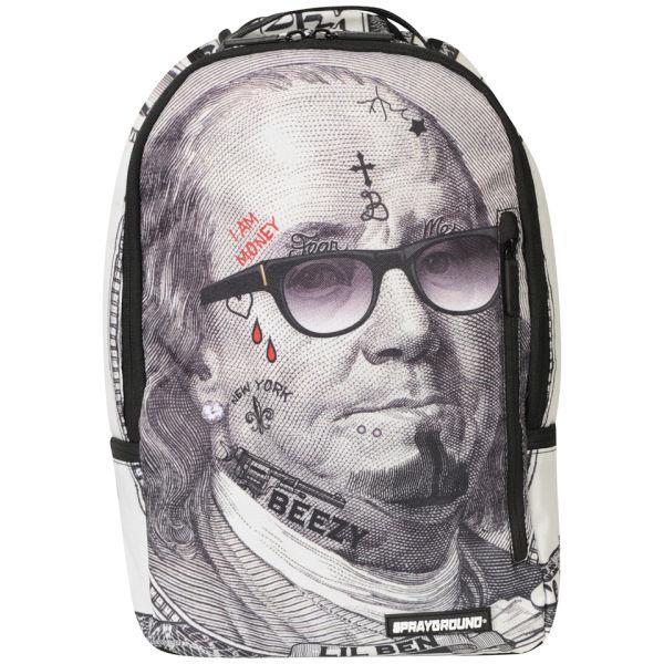 Sprayground Lil Ben Backpack Grey Mens Accessories Zavvi