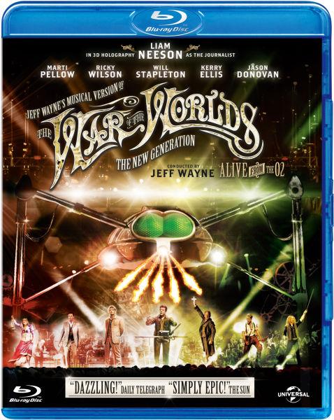 Jeff Waynes Version musicale de La Guerre des Mondes : The New Generation - Alive on Stage