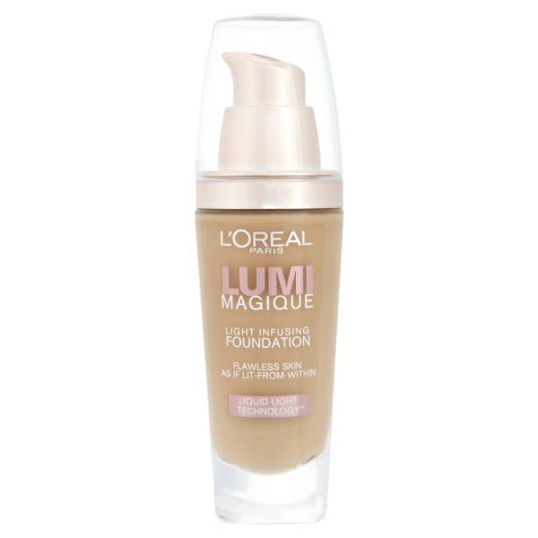Maquillaje L'Oreal Paris Lumi Magique Light Infusing Foundation SPF18 (varios tonos)