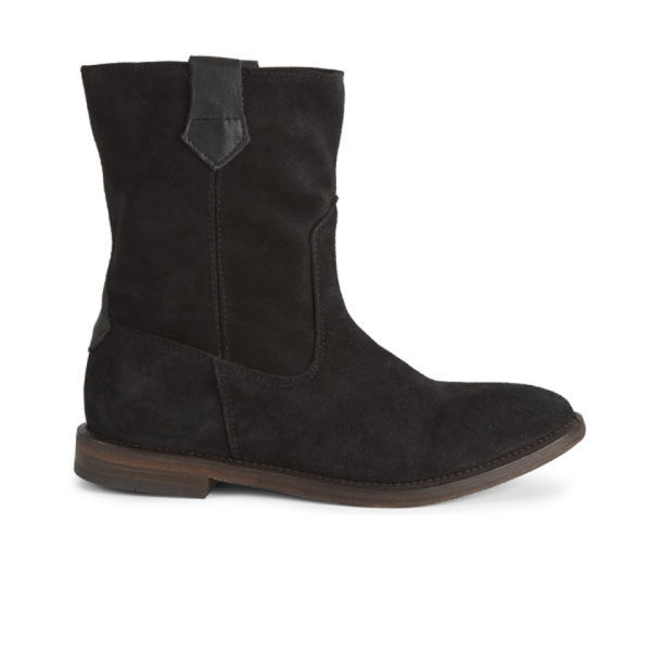 hudson s hanwell suede slouch boots black