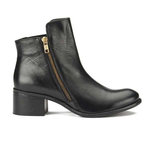 Ravel Women's Kansas Leather Ankle Boots - Black