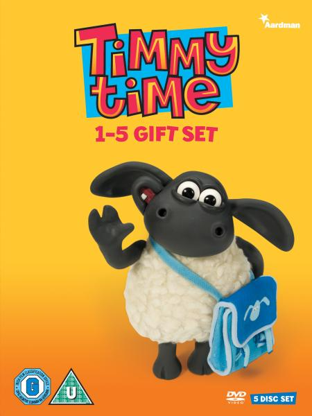 Timmy Time Series 1 5 Box Set Dvd Zavvi