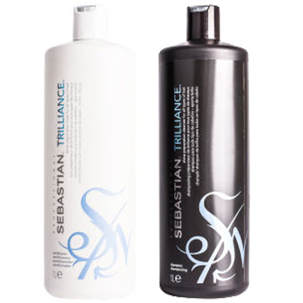 Sebastian Professional Trilliance duo shampooing et après-shampooing (2x1000ml)