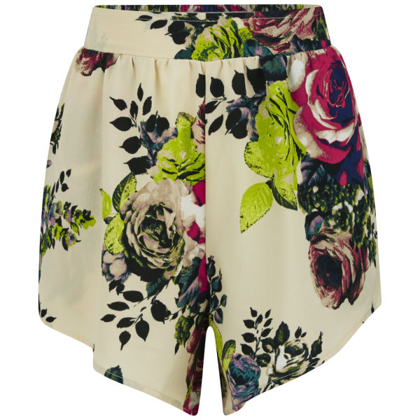 VILA Women's Flourish Shorts - Sandshell