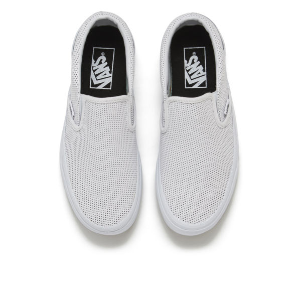 0888f05272 vans u classic slip-on perf leather   Come and stroll!