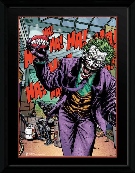 DC Comics Joker Teeth - 16 x 12 Framed Photgraphic
