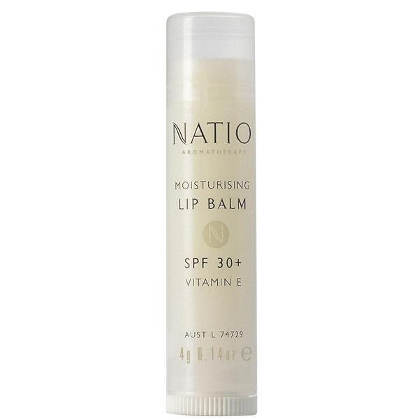 Baume à lèvres hydratant Spf30+ de Natio (4g)