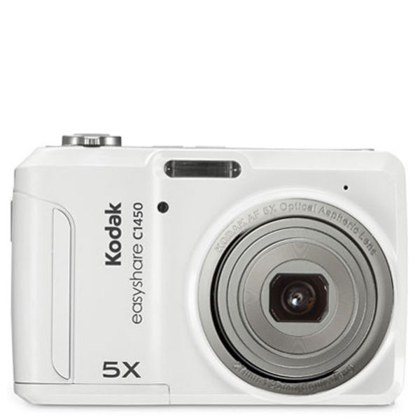 kodak c1450 14mp digital camera with 5x optical zoom white rh thehut com Kodak C1450 EasyShare Memory Card Kodak EasyShare Digital Cameras Accessories