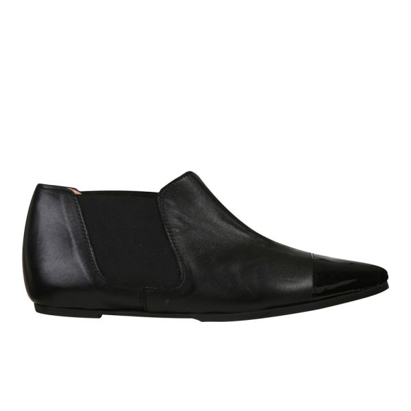 Just Ballerinas Women's Patent Shoe Boots - Black