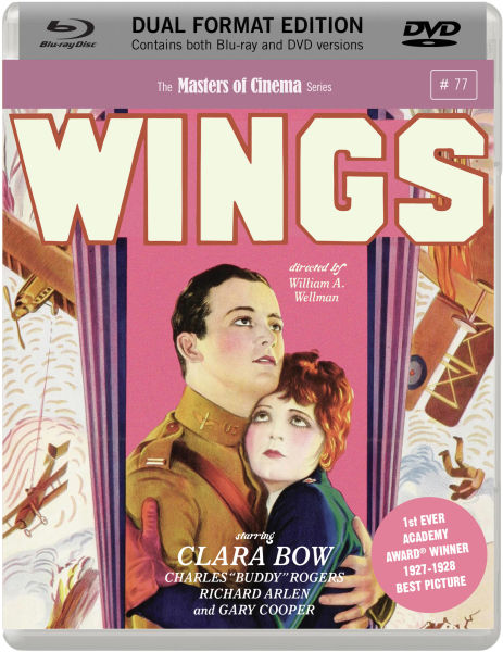 Wings - Dual Format Edition (Masters of Cinema)