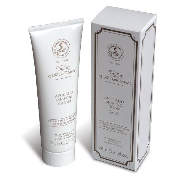 Crème de Rasage en Tube Taylor of Old Bond Street (75g) - Avocat