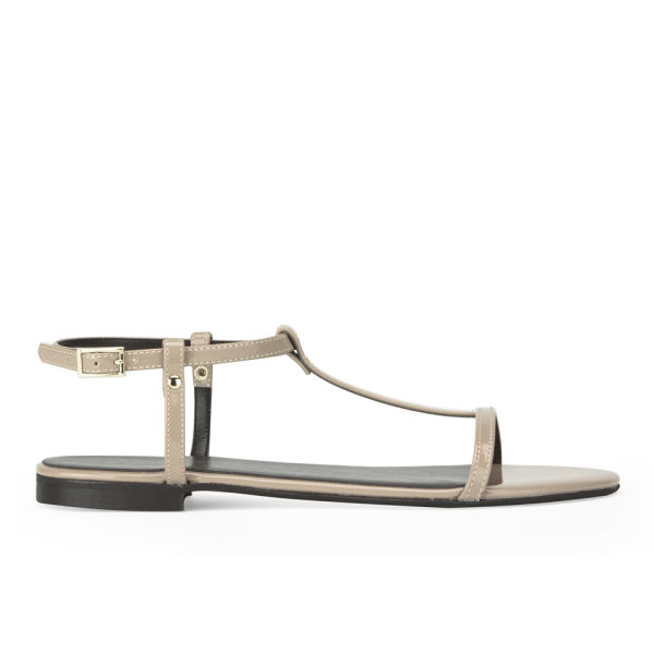 KG Kurt Geiger Women's Match Metallic Sandals - Nude