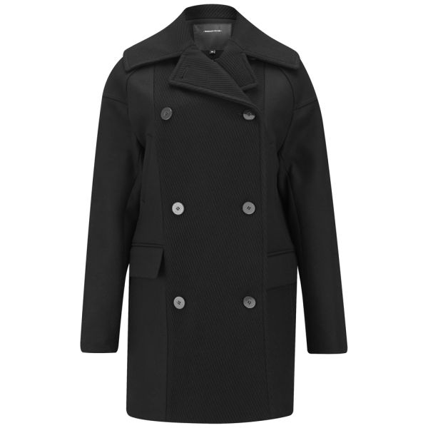 Surface to Air Women's Maple Boxy Coat - Black