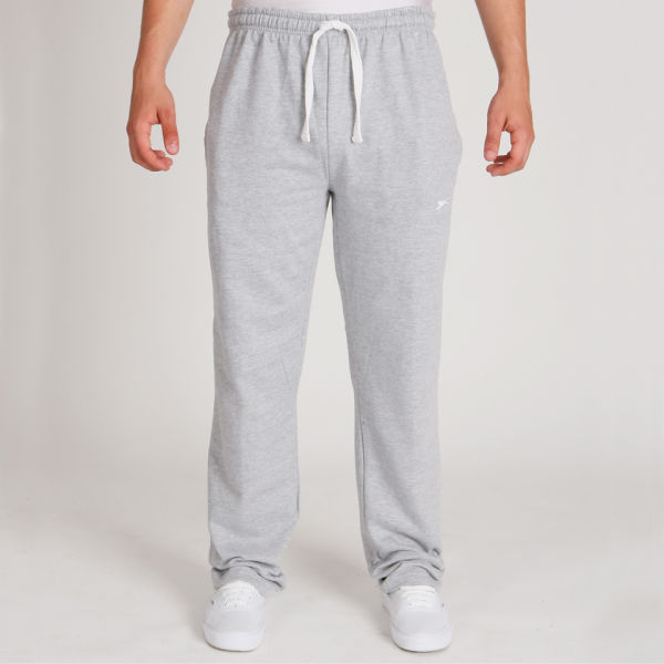 Slazenger Men S Jogging Bottoms Grey Marl Sports