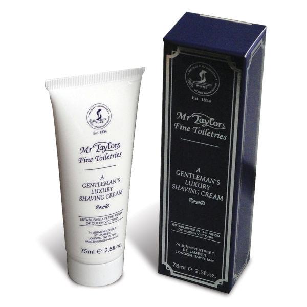 Taylor of Old Bond Street Shaving Cream Tube (75g) - Mr Taylor's