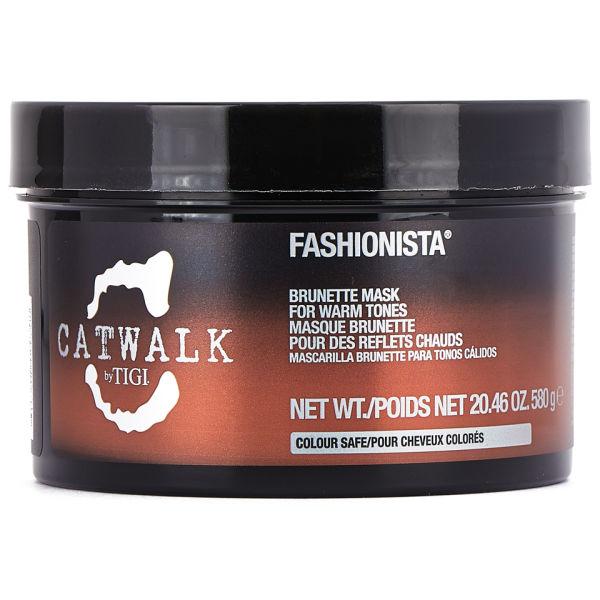 TIGI Catwalk Fashionista masque cheveux bruns (580g)