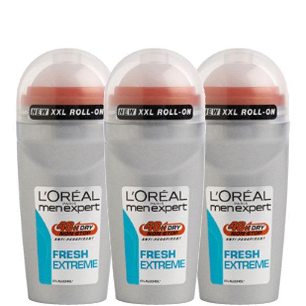 L'Oreal Paris Men Expert Fresh Extreme DeodorantBille (50 ml) Trio