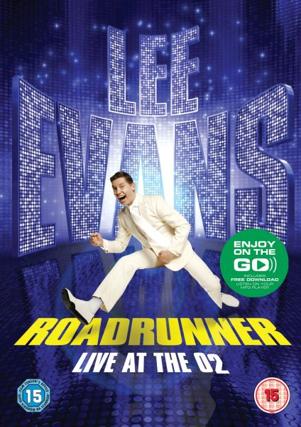 Lee Evans: Roadrunner - Live at The O2 (Includes MP3 Copy)